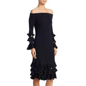 Jonathan Simkhai long sleeve knit dress